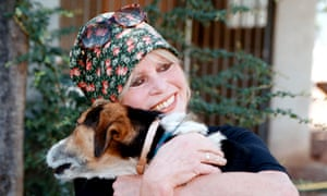 For for decades now, Bardot has fought for animal rights. Here, in 2001, she visits the dog refuge she founded in Paris, France.