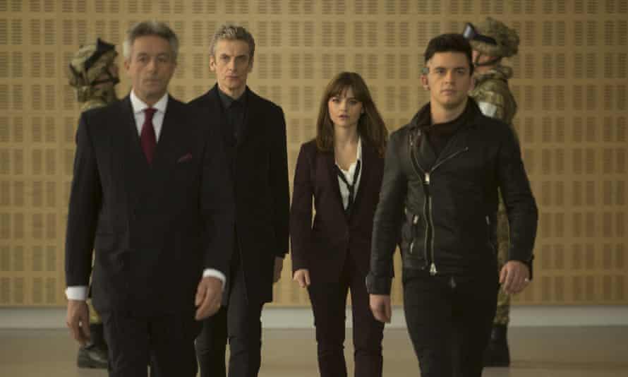 Mr Porrima, The Doctor, Clara) and Psi