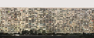 Paris, Montparnasse, 1993. Photograph by Andreas Gursky