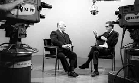 Alfred Hitchcock at Granada Television in 1960s