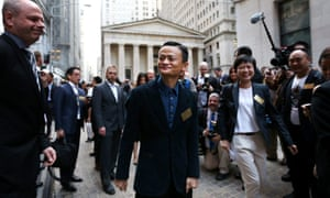 Alibaba Ipo Market Values E Commerce Giant At 231bn In Enthusiastic Opening Day Live Business The Guardian Alibaba finally went public at $68 per share on sept. alibaba ipo market values e commerce