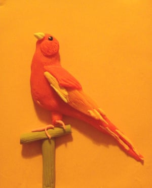 002 Red Canary #1