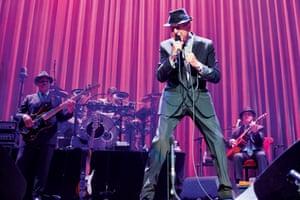 Leonard Cohen in Leeds, 2013