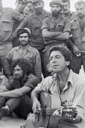 Leonard Cohen in Israel