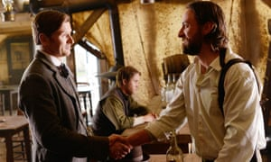 Damian O'Hare and Philip Burke in Hell on Wheels