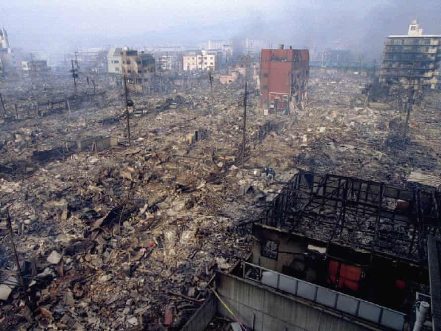 Kobe earthquake, Japan