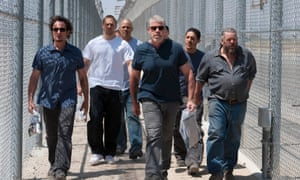 Ron Perlman and the gang in Sons of Anarchy.