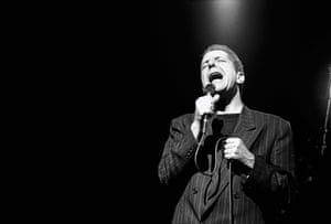 Amsterdam, April 1988 On stage touring the I'm Your Man album.