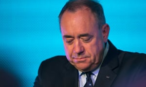 Alex Salmond will stand down as Scottish first minister following referendum defeat.
