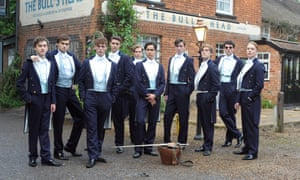 A scene from The Riot Club