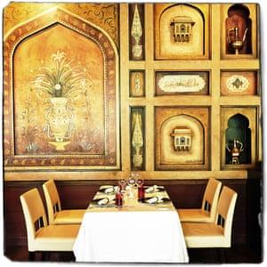 Varq restaurant at the Taj Mahal Hotel.