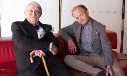 Neil Baldwin and Toby Jones