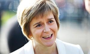 Nicola Sturgeon, deputy first minister of Scotland