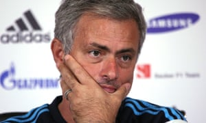 José Mourinho at Chelsea press conference