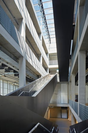 A sense of drama… inside Heneghan Peng's new architecture school.