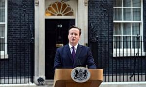 Scotland referendum David Cameron