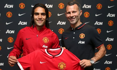 Manchester United have an option to buy Radamel Falcao next summer from Monaco.