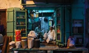 India mobile money store