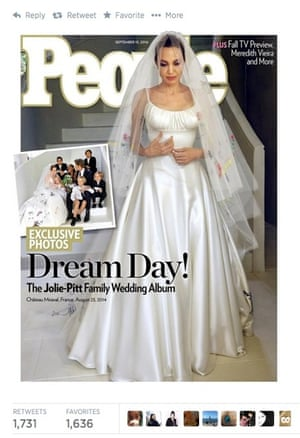 Why This Wedding Dress Was Classic Angelina Jolie Fashion The