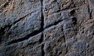 Neanderthal rock engraving at Gorham s Cave in Gibraltar