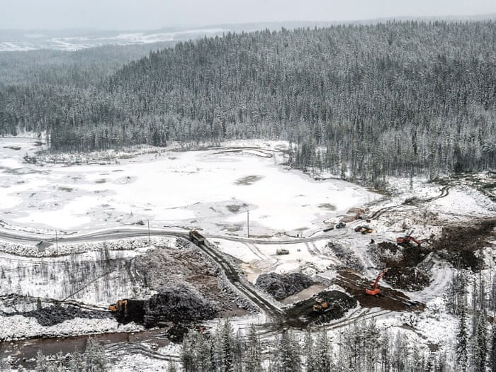 Mining threatens to eat up northern Europe's last wilderness