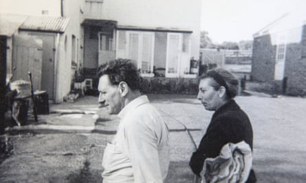 Michael Rosen's parents, Harold and Connie, in 1963.