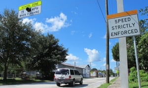 Florida 'traffic trap' town suspends two police chiefs after