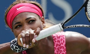 Up for five sets? Serena Williams at the US Open in New York.