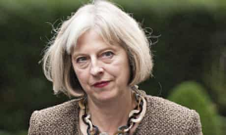 Theresa May said the Rotherham scandal was a dereliction of duty by police and agencies.