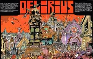 Delirius by Philippe Druillet