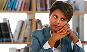 Najat Vallaud-Belkacem, France's new education minister