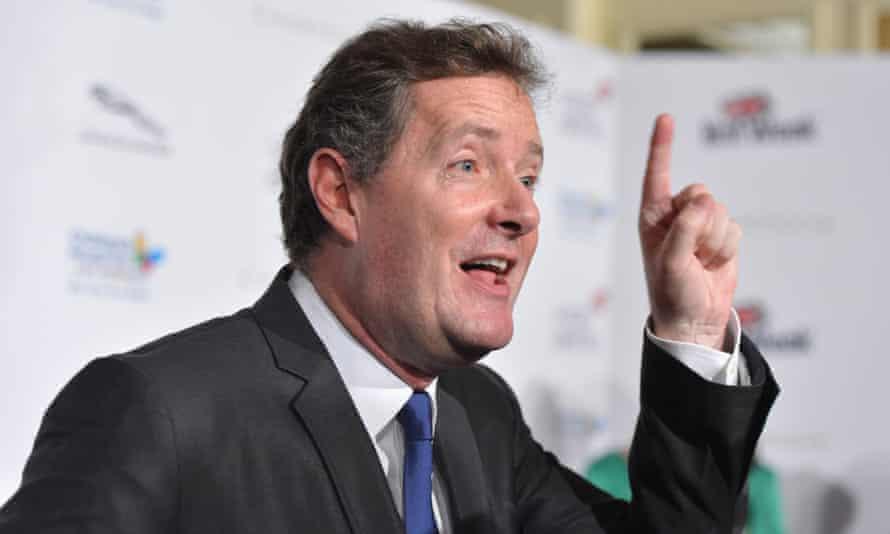 Piers Morgan: out at CNN.