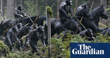 6226b01c37d Apes swing past Inbetweeners to grab top spot at the UK's summer box office  | Film | The Guardian
