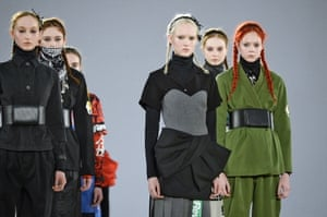 Katie Hillier and Luella Bartley's first collection for Marc by Marc Jacobs.