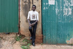 """I dropped out of college to start my own business. Some study the roots, and others pick the fruits."" (Kampala, Uganda)"