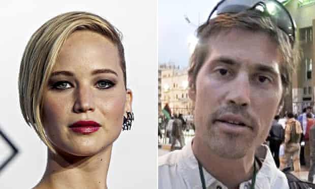 Jennifer Lawrence and James Foley