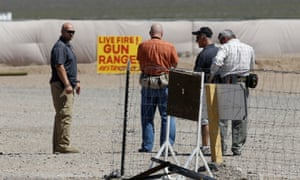 The Last Stop outdoor shooting range, where instructor Charles Vacca was accidentally killed.