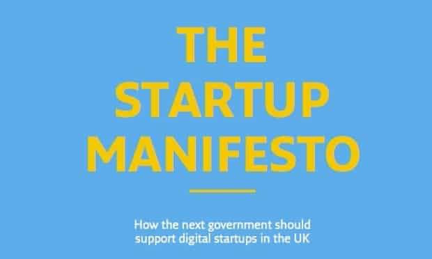Startup Manifesto front page