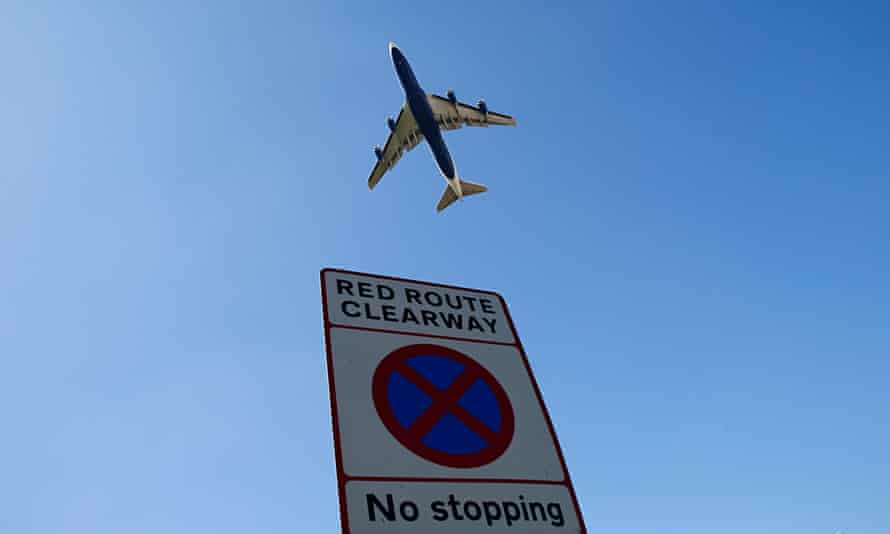 An aircraft takes off from Heathrow airport in west London on 2 September 2014.