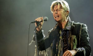David Bowie (pictured performing on another occasion) made an unexpected intervention in the the debate over Scottish independence at this year's Brit awards.