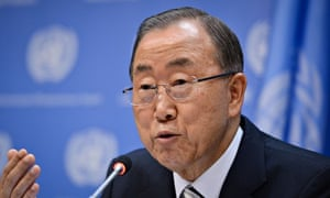 Climate Change press conference at UN Headquarters, New York, America - 16 Sep 2014