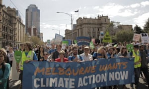 People's Climate March - Melbourne Australia