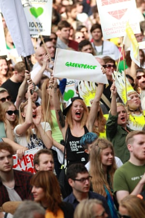 Greenpeace supporter