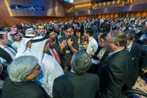 Addressing Climate Change : An illustrated biography of the annual United Nations Climate Change Conference COP18 in Doha, Qatar