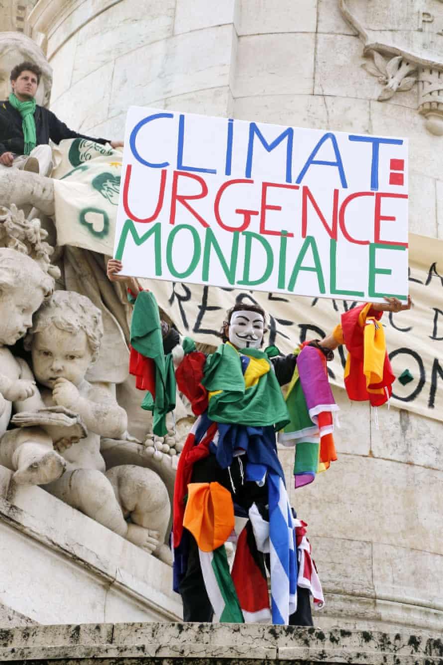 climate change march paris