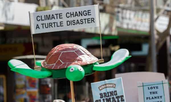 climate change march melbourne