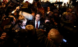 Ed Miliband campaigns against Scottish independence in Edinburgh