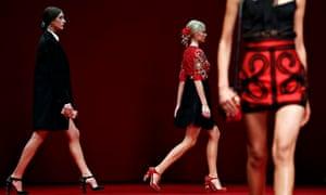 Dolce & Gabbana Spring/Summer 2015 collection