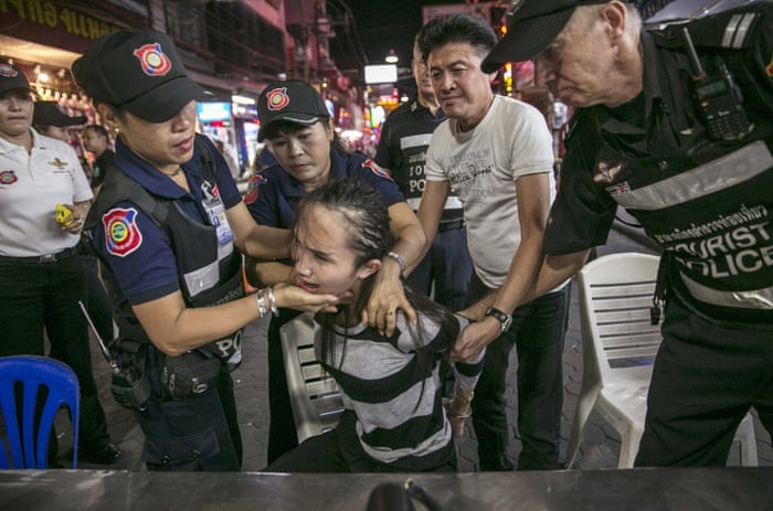 Pattaya police target sex tourism – in pictures | Society | The Guardian