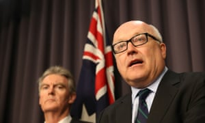 George Brandis and Duncan Lewis